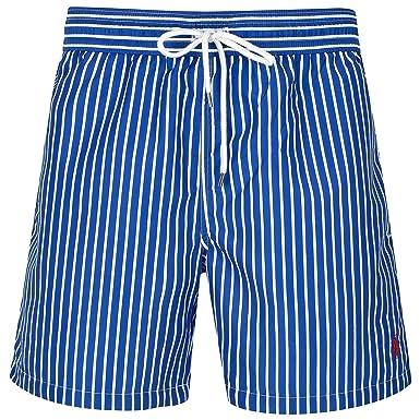 12f3909ec6 Ralph Lauren - Short de Bain - Homme Multicolore Bleu/Blanc - Multicolore -  Large