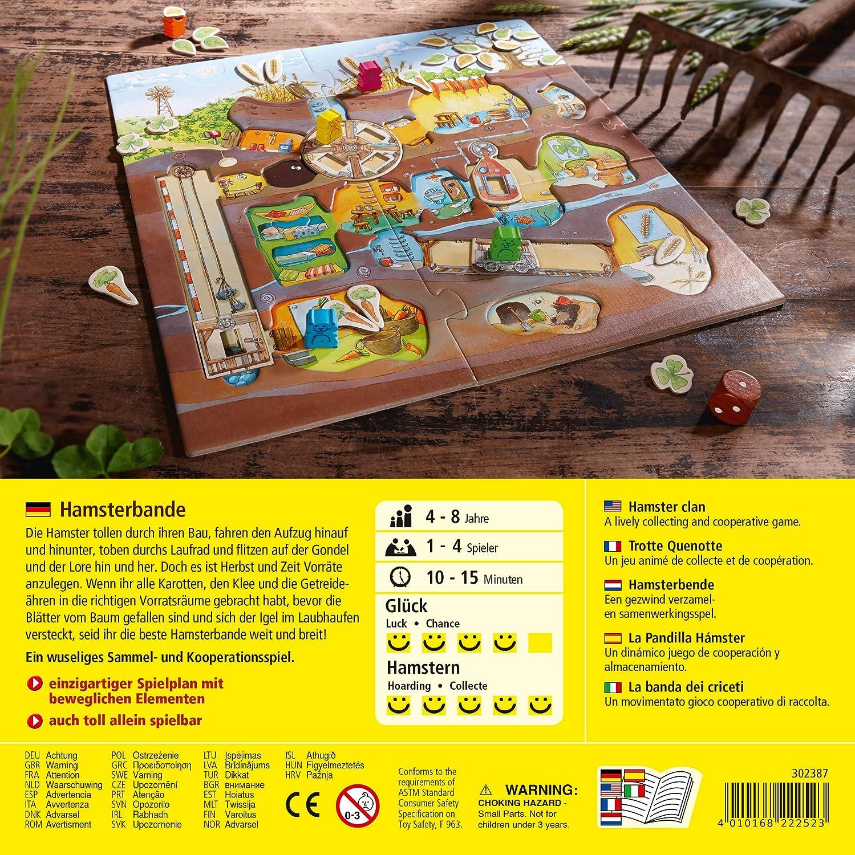 HABA 302387 - Juego de Tablero (Juego de Mesa de Carreras, Niños, 10 min, Niño/niña, 4 año(s), 8 año(s)): Rogasch, Tim: Amazon.es: Juguetes y juegos