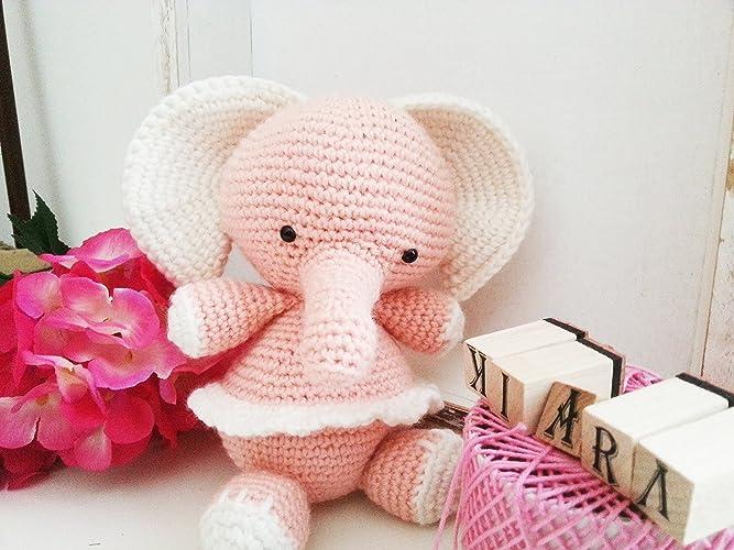 Ely Elefante Alluncinetto Amigurumi Regalo Per Bambini E Neonati