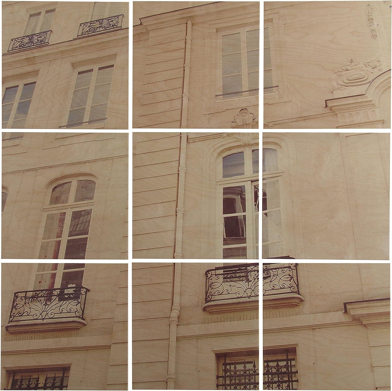 Amazon Brand – Stone Beam Modern of 2021 model Paris Mural Recommendation 9-Piece White
