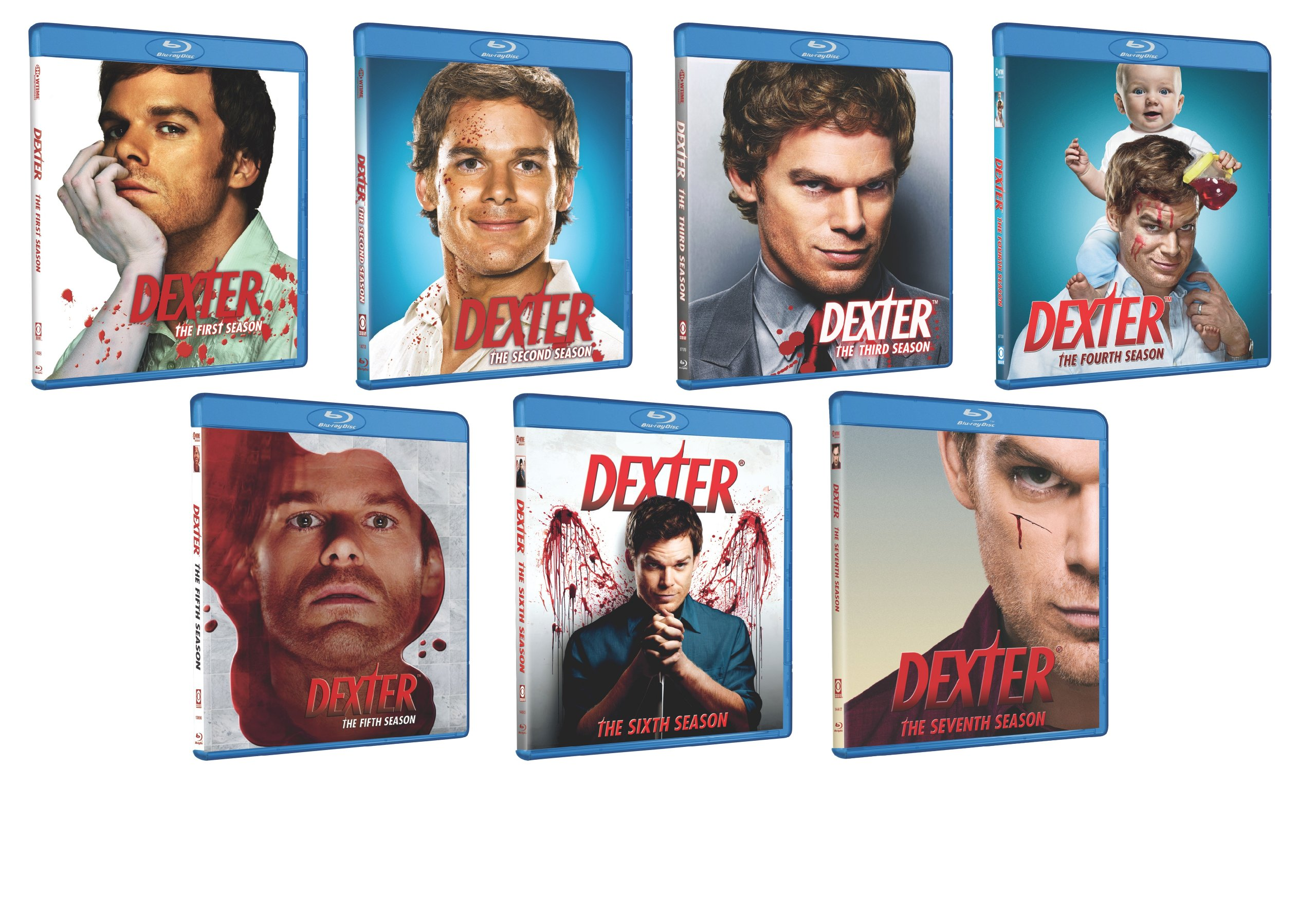 Dexter: Seven Season Pack [Blu-ray] by Paramount