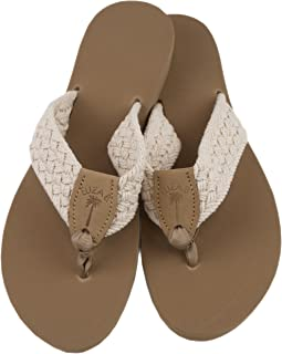 product image for Eliza B. Natural Macrame Sandal with Almond Sole