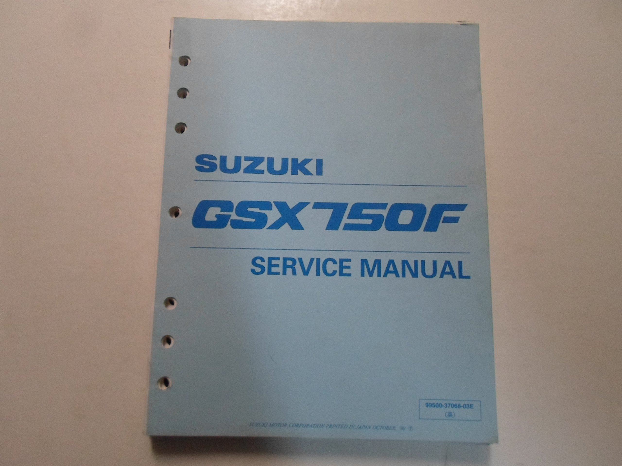 1990 suzuki gsx750f service repair shop manual loose leaf suzuki rh amazon com suzuki gsxf 750 service manual suzuki gsx750f service manual free download