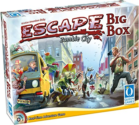 Queen Games 10331 Escape Zombie City Big Box: Amazon.es: Juguetes y juegos