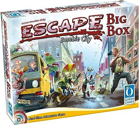Queen Games 10331 Escape Zombie City Big Box: Amazon.es: Juguetes y juegos