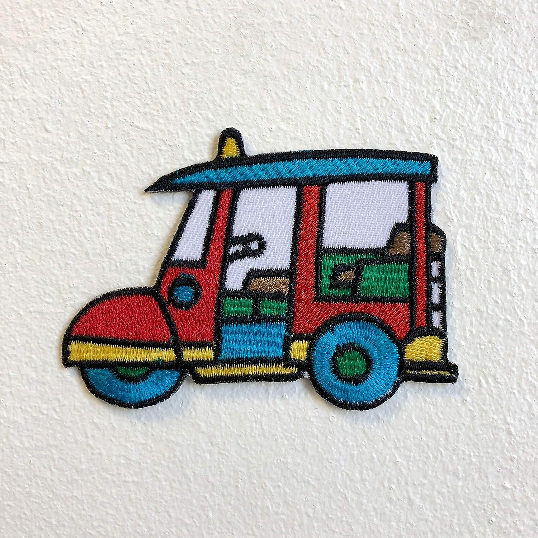 Embrologos Parche Bordado para Coser o Planchar de Tuk Tuk Taxi Travel Tailandia Bangkok: Amazon.es: Hogar