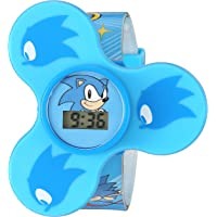 Sonic the Hedgehog Quartz Plastic Strap, Blue, 15.5 Casual Watch (Model: SNC4016)