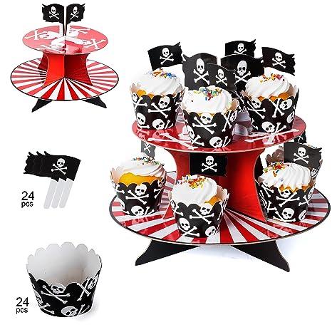 Amazon.com: Suministros de fiesta pirata para niños ...