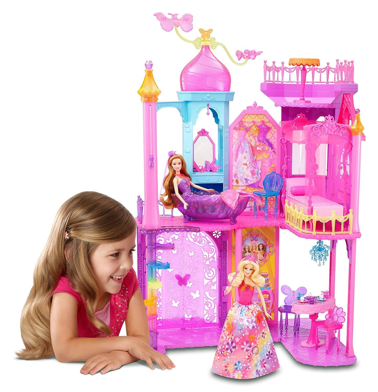 Prinzessin Schloss - Mattel Barbie Prinzessinnen Schloss