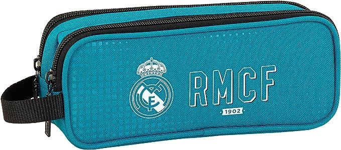 Safta Estuche Real Madrid 3ª Equip. 17/18 Oficial Escolar 210x60x80mm: Amazon.es: Ropa y accesorios