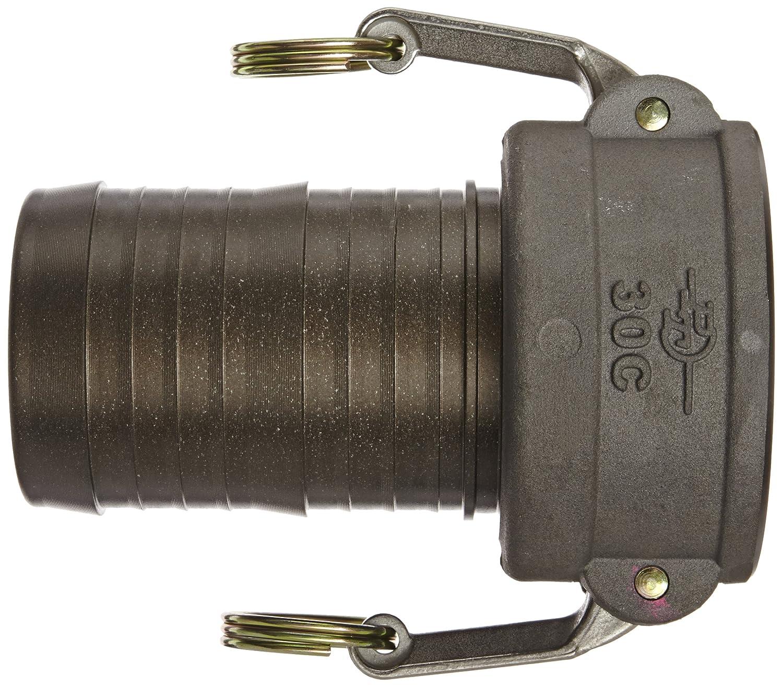 2 Coupler x Hose Shank PT Coupling Basic Standard Series 20C Polypropylene Cam and Groove Hose Fitting Poly C-Coupler