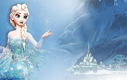 Posterhouzz Movie Frozen Elsa Snow Arendelle HD Wallpaper Background Fine Art Paper Print Poster