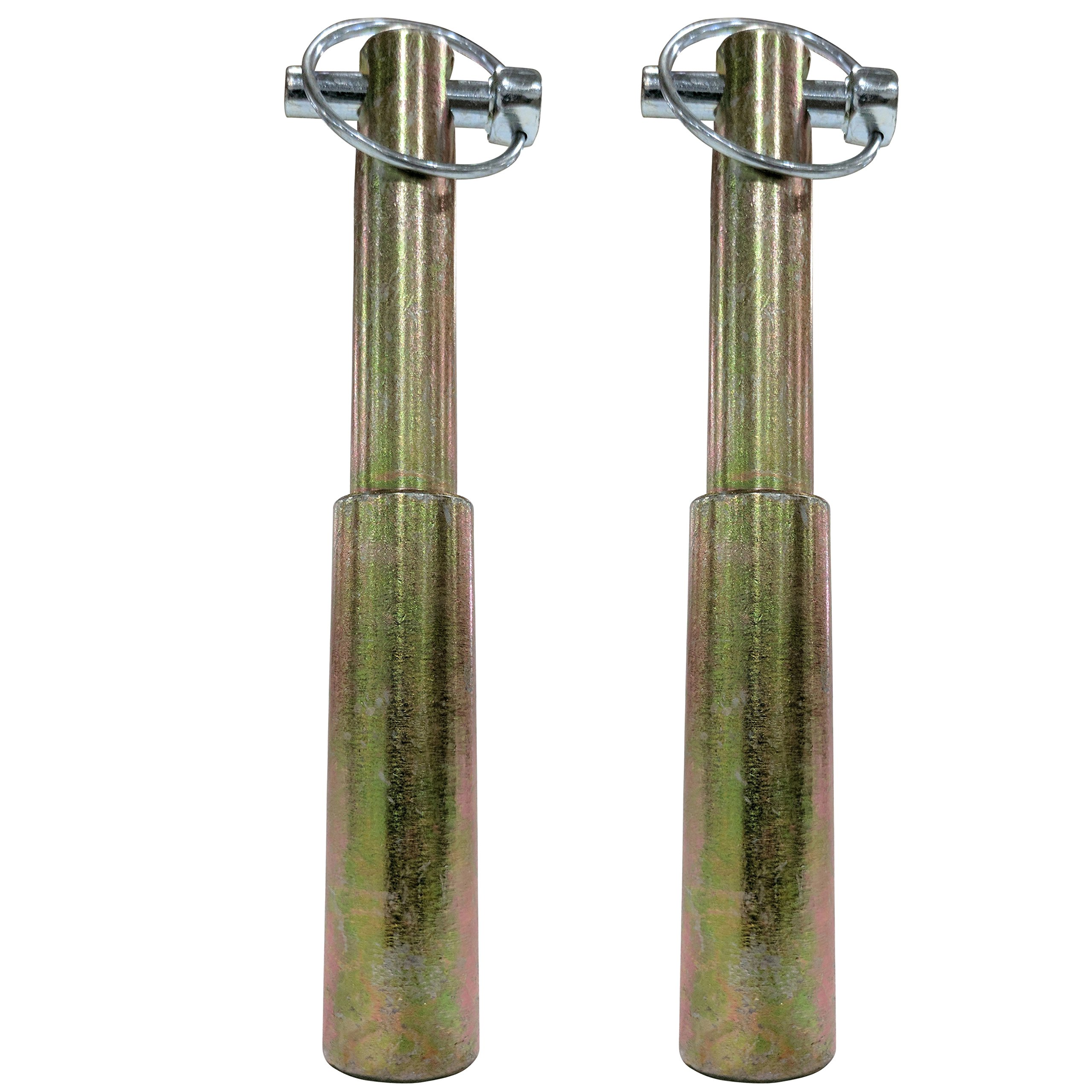 Titan (2) Stepped Lower Lift Pin (CAT 1 & 2) by Titan Attachments