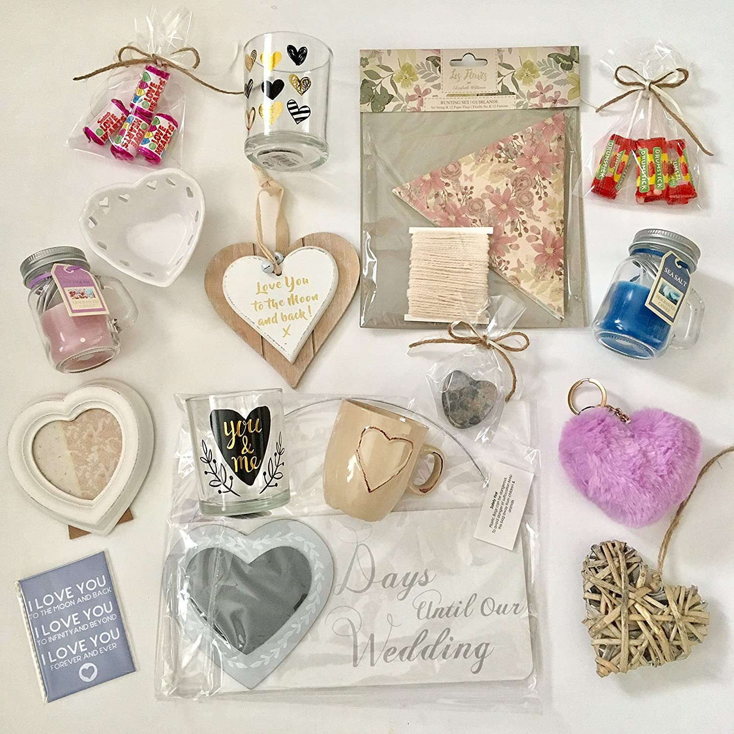 Bride Wedding Countdown Gift Box (10 Day): Amazon.co.uk: Kitchen & Home
