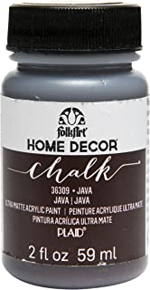 product image for FolkArt 36309 Home Decor Chalk Furniture & Craft Paint in Assorted Colors, 2 ounce, Java