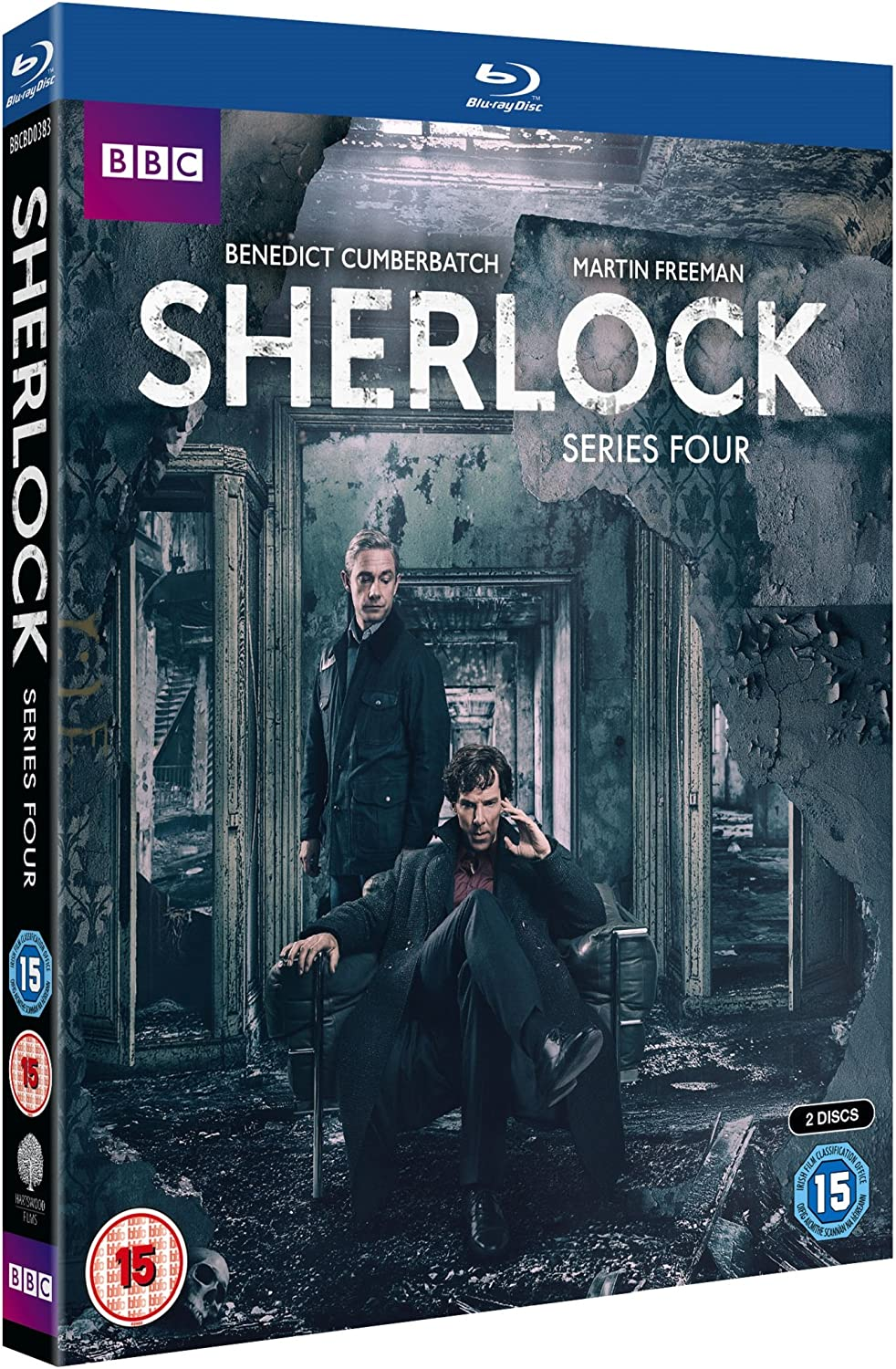 Sherlock - Series 4 [Blu-ray] [2016]: Amazon.co.uk: Benedict ...