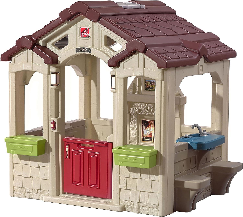 Step 2 Charming Cottage - Casas de Juguete (Casa de Juegos sobre pilares, Niño/niña, 2 año(s),, plástico, 1 Puerta(s)): Amazon.es: Juguetes y juegos