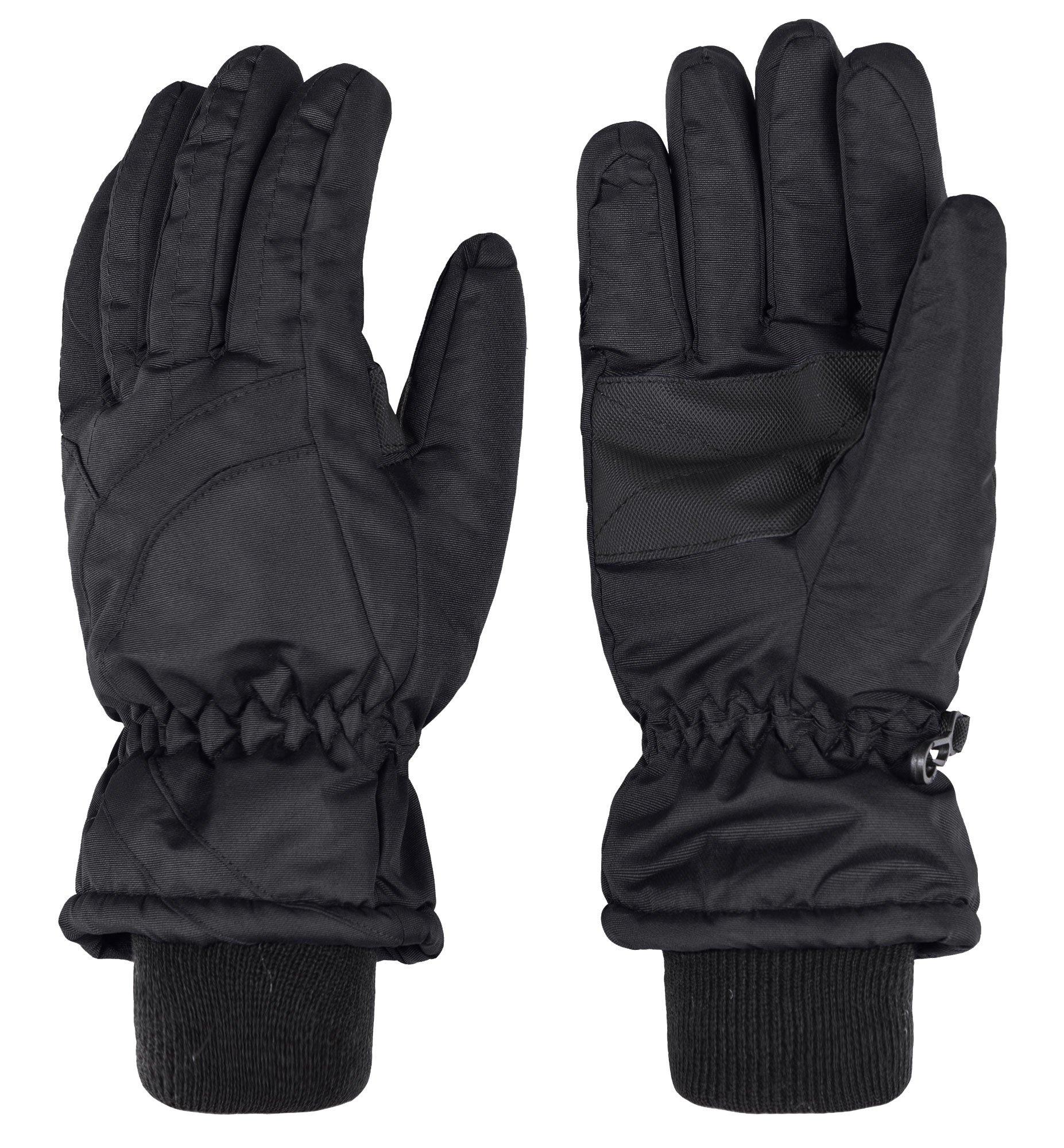 Wantdo Women's Waterproof Insulated Winter Warm Ski Snowboarding Gloves