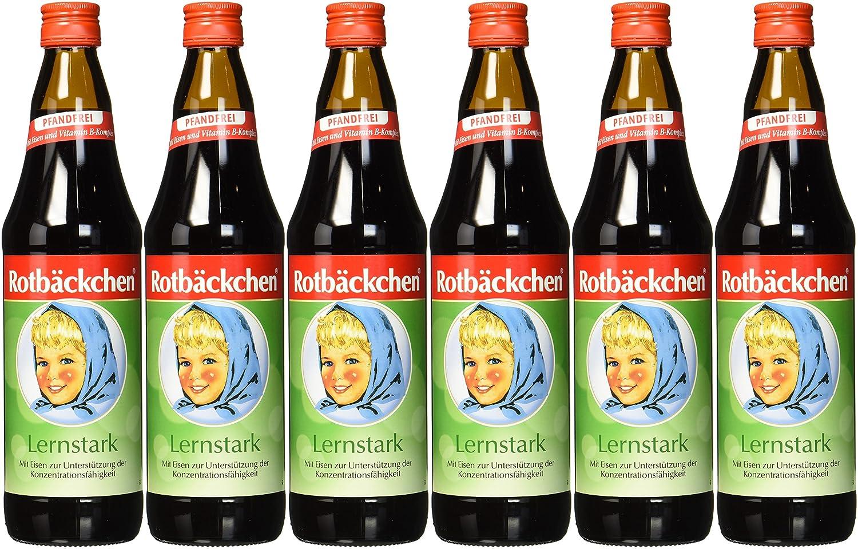 Rotbäckchen Lernstark, 6er-Pack (6 x 700 ml): Amazon.de ...