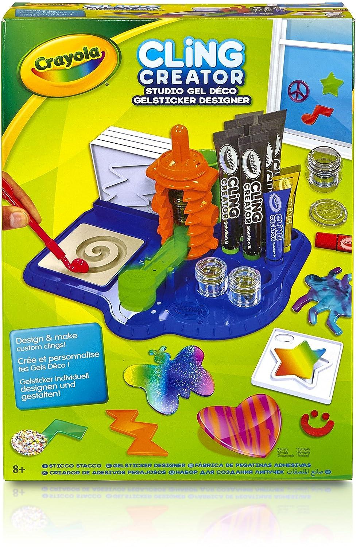 Crayola - Cling Creator, juego creativo (74-7220)   eBay
