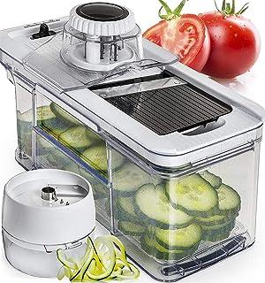 Mandoline 10 Pcs Coupe Cutter Chopper pâte fruits légumes légumes Peeler Dicer
