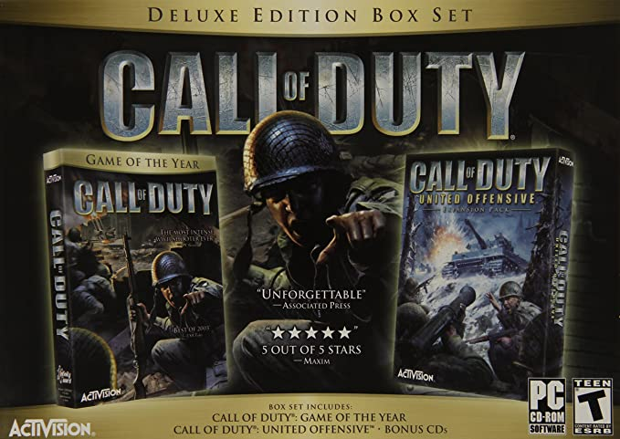 Call of Duty - Deluxe Edition (PC): Amazon in: Video Games