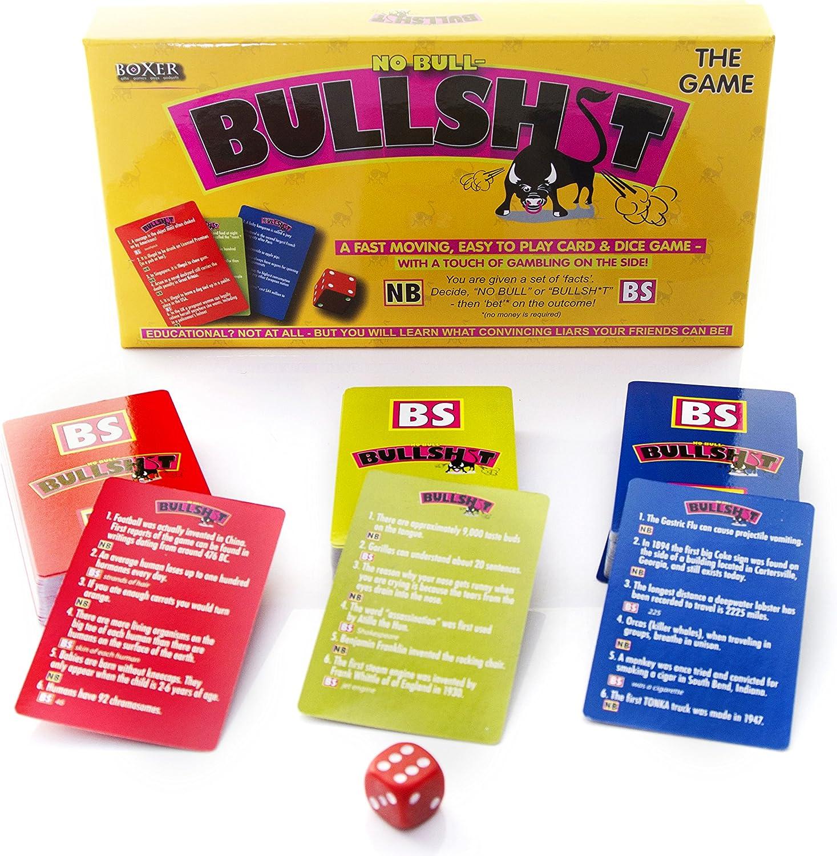 Boxer Gifts - Juego de Mesa Bullsh*t: Amazon.es: Hogar