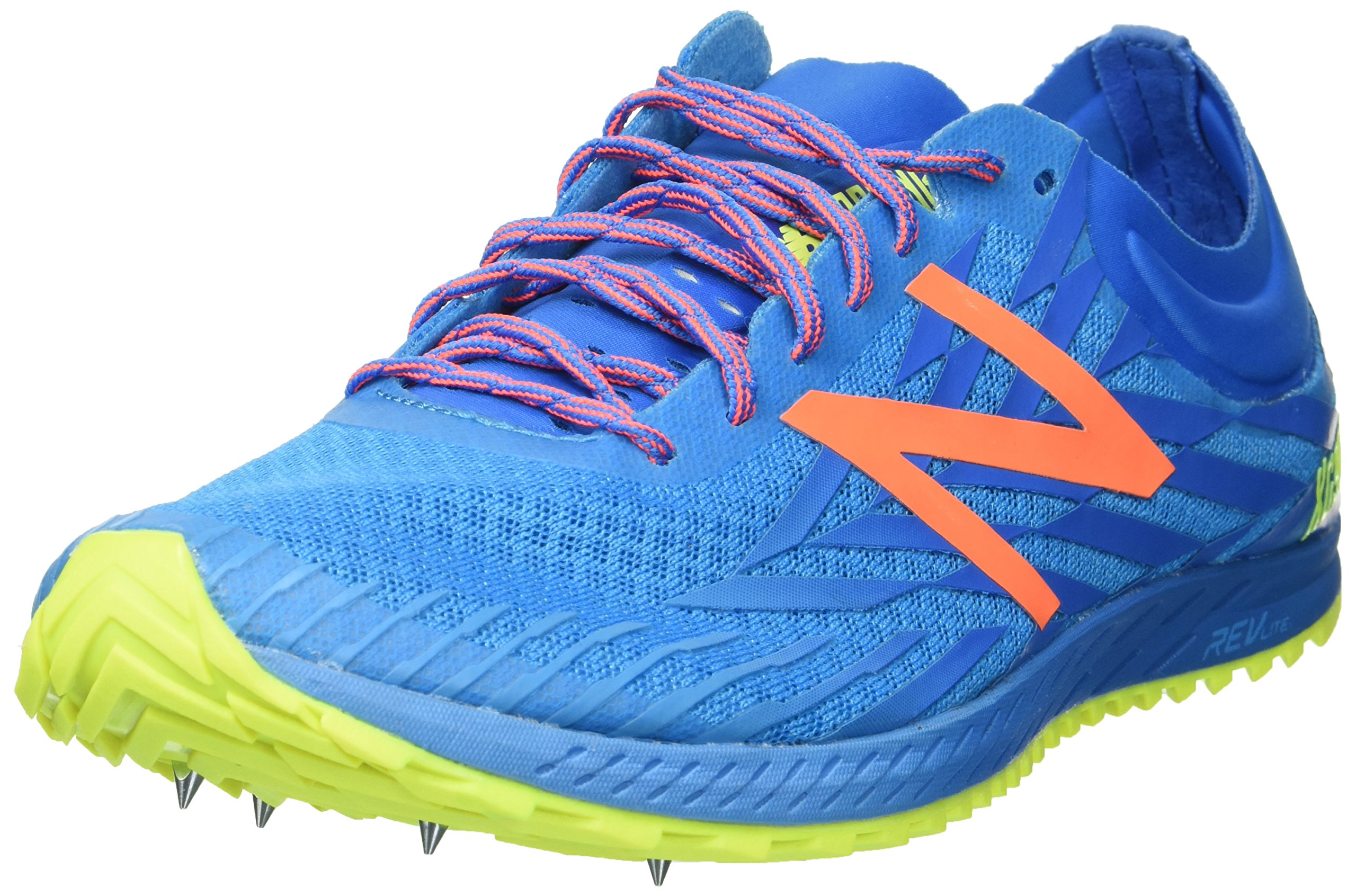 New Balance Women's 9004 Cross Country Running Shoe, Bright Blue/Yellow, 7 B US by New Balance