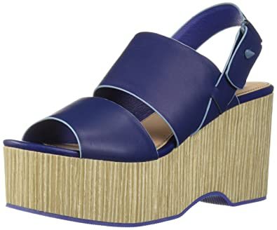 8946d491a40 Kelsi Dagger Brooklyn Women s Nash Heeled Sandal Blueberry 10 ...