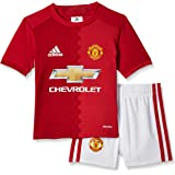 adidas Children's Manchester United Fc Home Mini Kit
