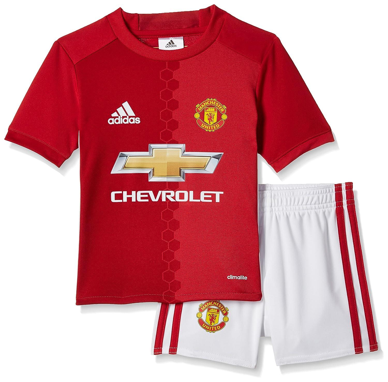 adidas Children's Manchester United Fc Home Mini Kit AI6711