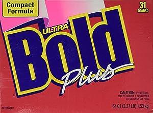 Bold Ultra Compact Formula Plus Powder Detergent 31 Loads 54 Oz