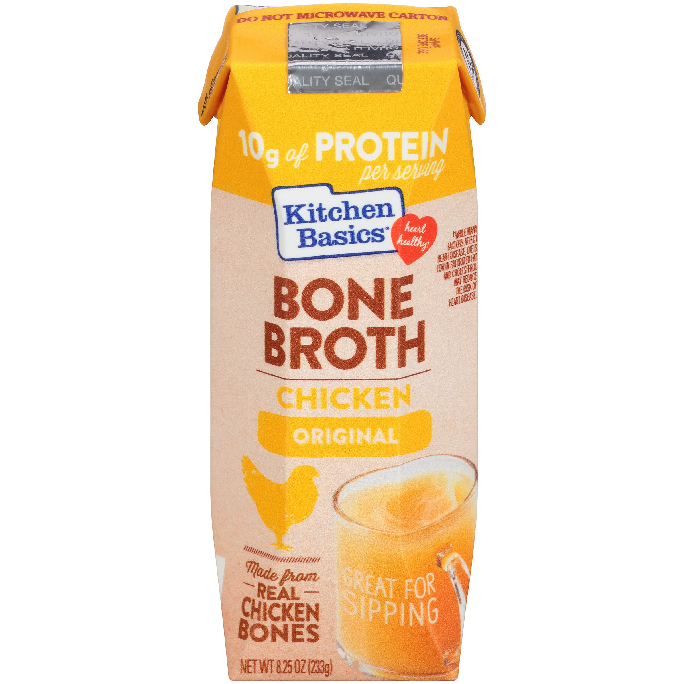 Kitchen Basics Original Chicken Bone Broth, 8.25 oz (Case of 12)