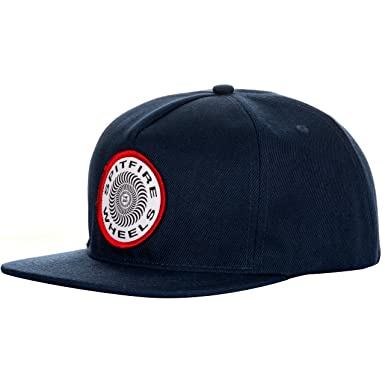 873a1dd4cadf2 Spitfire OG Classic Patch Snapback Cap Navy  Amazon.co.uk  Clothing