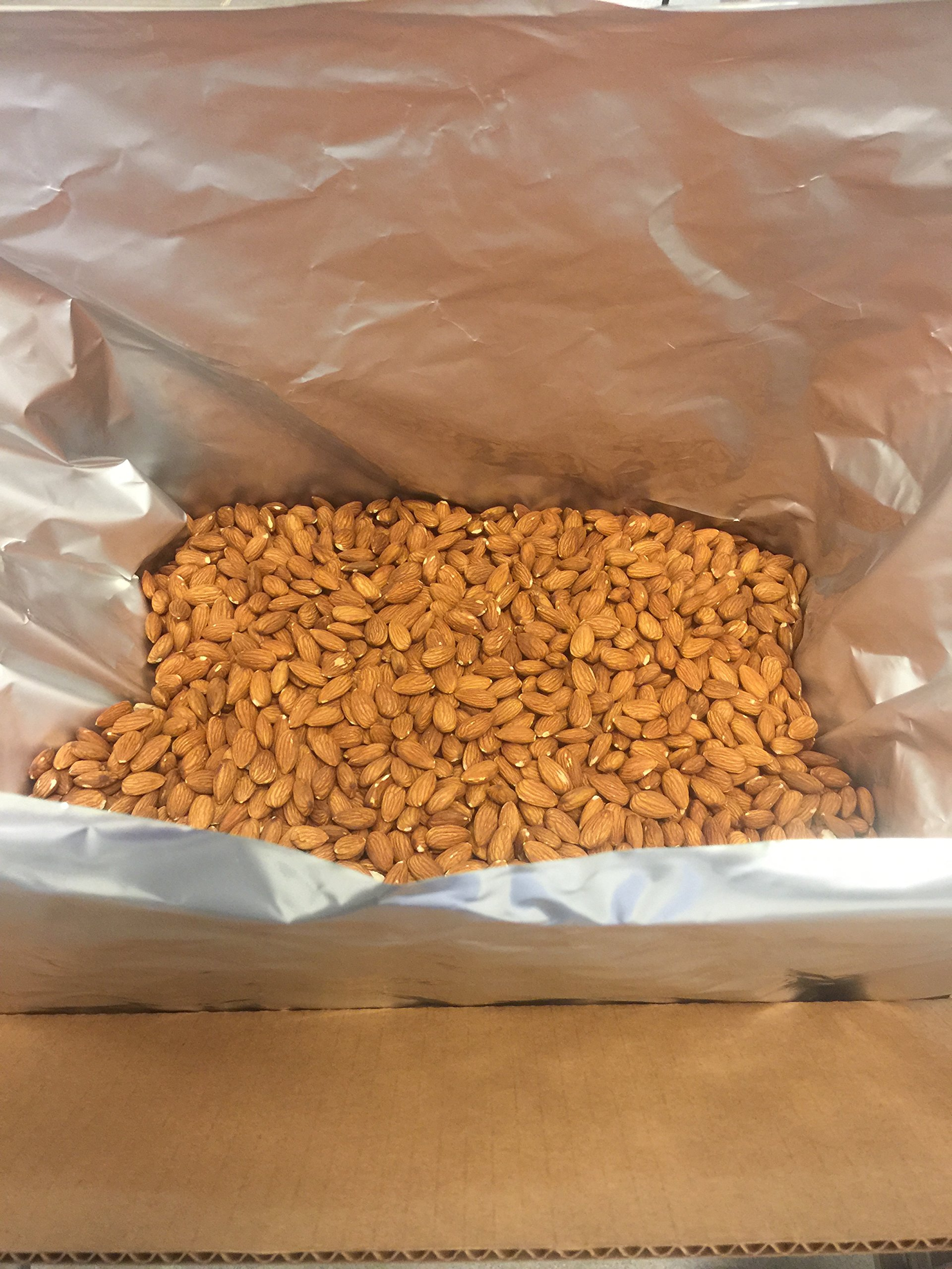 Heart Ridge Farms Bulk Whole Natural Raw California Almonds Packaged in Air Free Foil Bag to Maintain Highest Quality Freshness (10 lb box) by Heart Ridge Farms (Image #1)
