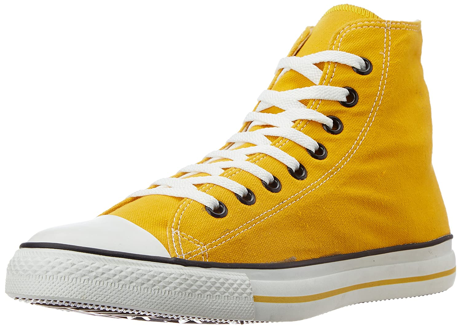 Converse Unisex Yellow Canvas Sneakers