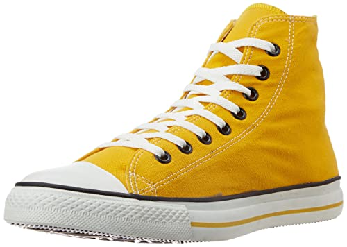 Converse Unisex Yellow Canvas Sneakers - 11 UK (03FPL10YL)  Buy ... 40054d836