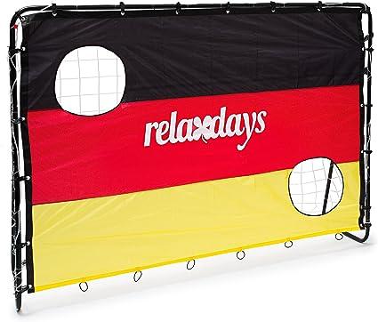 Relaxdays – Balón de fútbol – Portería con Alemania, Dimensiones ...