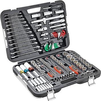 Connex COXBOH600160 - Caja de herramientas (160 piezas): Amazon.es ...