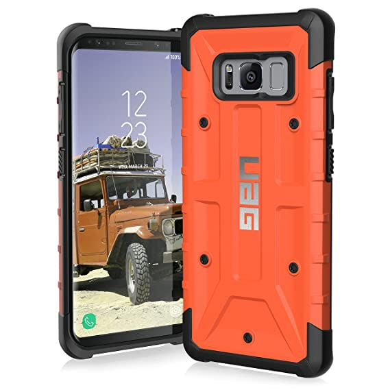 reputable site 037b2 abb58 UAG Samsung Galaxy S8 [5.8-inch Screen] Pathfinder Feather-Light Rugged  [Rust] Military Drop Tested Phone Case