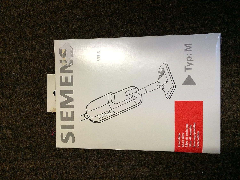 1 Mikrofilter VZ92M60-8 Beutel Siemens Staubbeutel  Typ  M