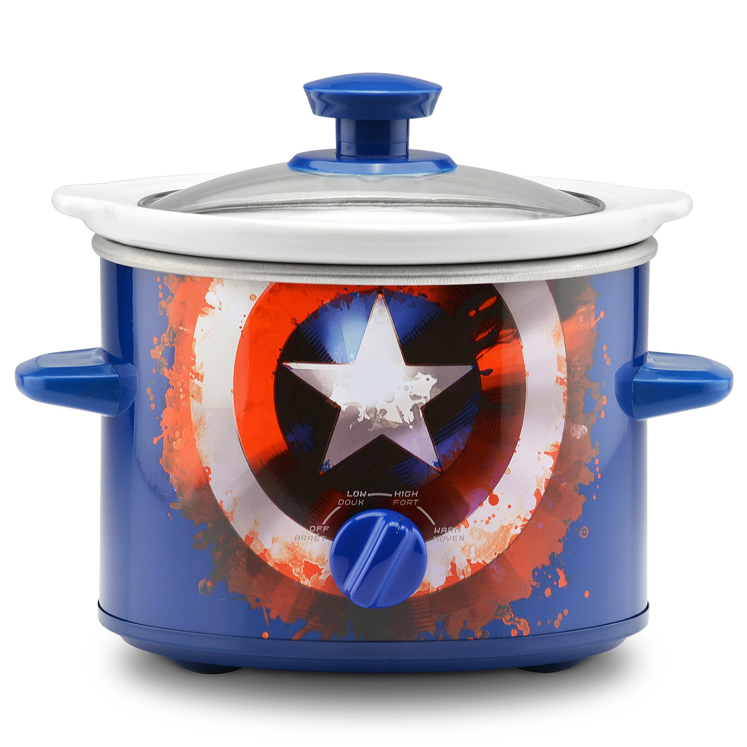 Marvel Captain America Shield 2-Quart Slow Cooker