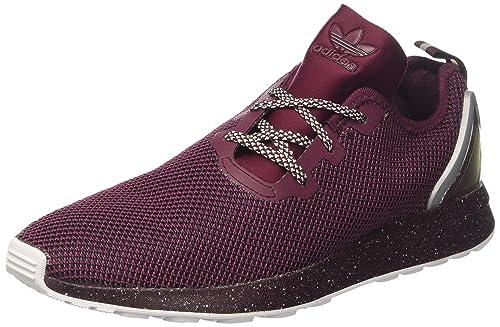 b210dfd7920 adidas Originals ZX Flux ADV Asymmetrical Men Sneaker Violet AQ6658 ...