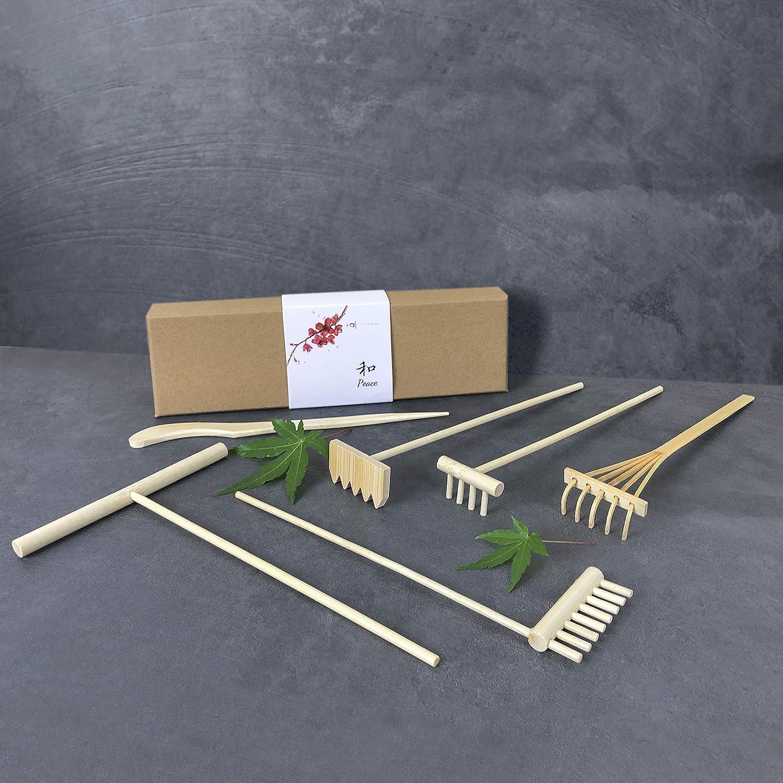 6 piece rake set