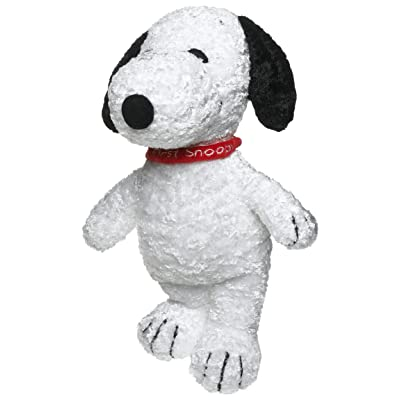 Baby Snoopy Plush w Rattle, My First Snoopy : Early Development Activity Centers : Baby