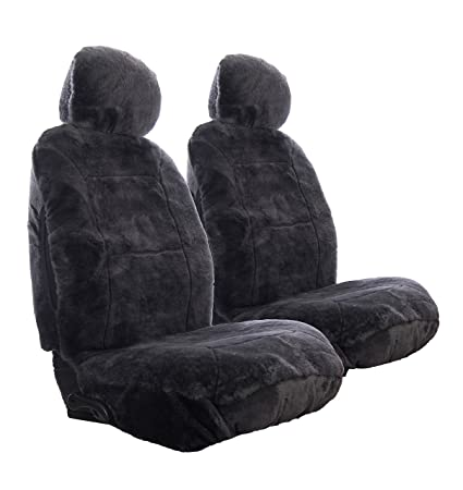 Etonnant Sheepskin Car Seat Covers, Premium Set Of 2, Genuine Australian Sheepskin  Front, Universal