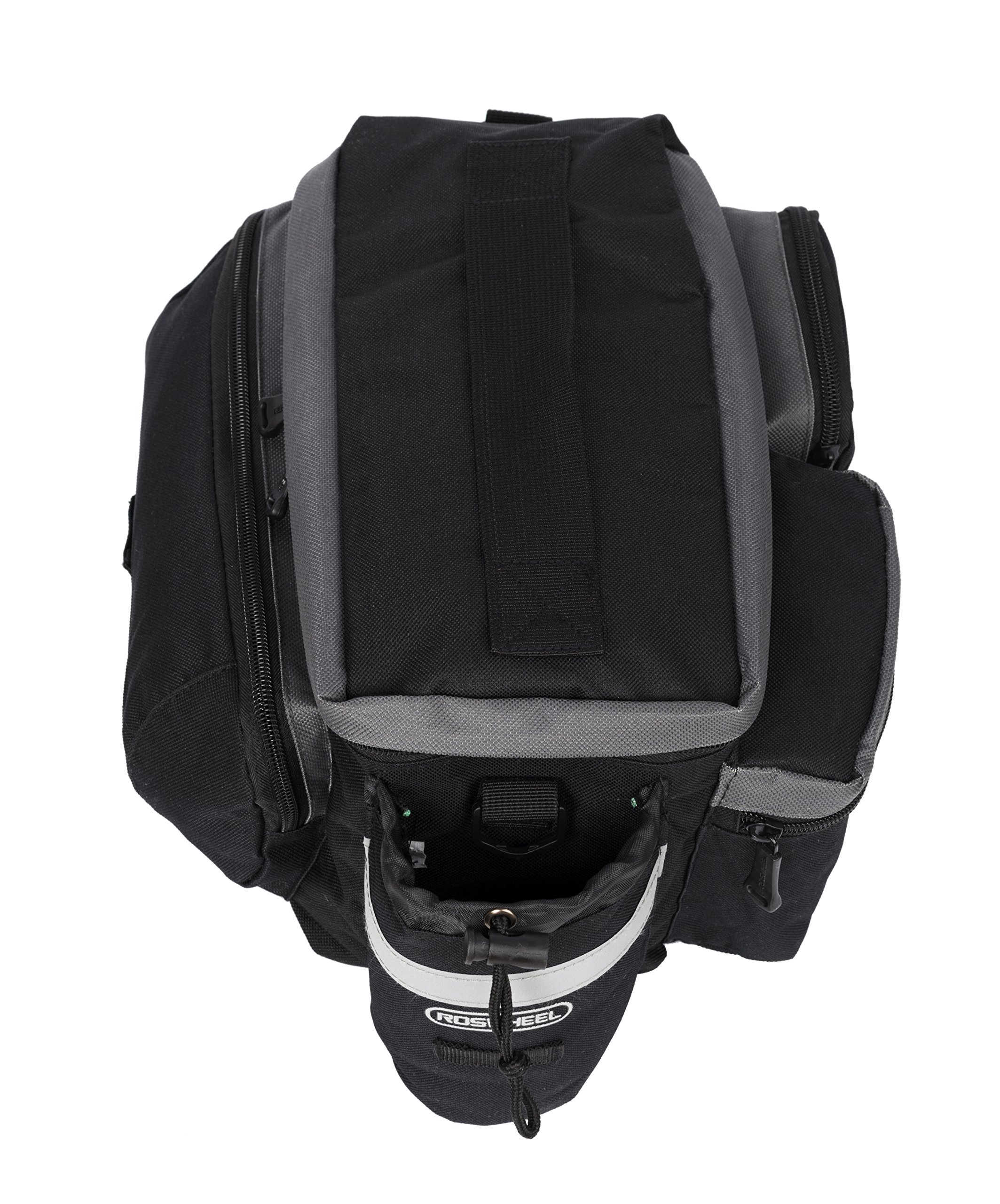 Roswheel 14024 Convertible Bike Bicycle Rear Rack Seat Pannier Trunk Bag with Cup Holder by Roswheel (Image #4)