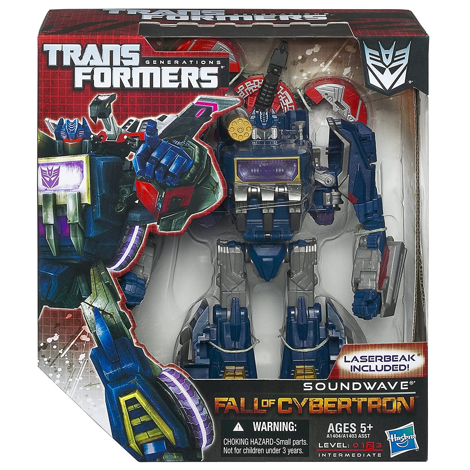 Review – Transformers Generations Cybertronian Soundwave
