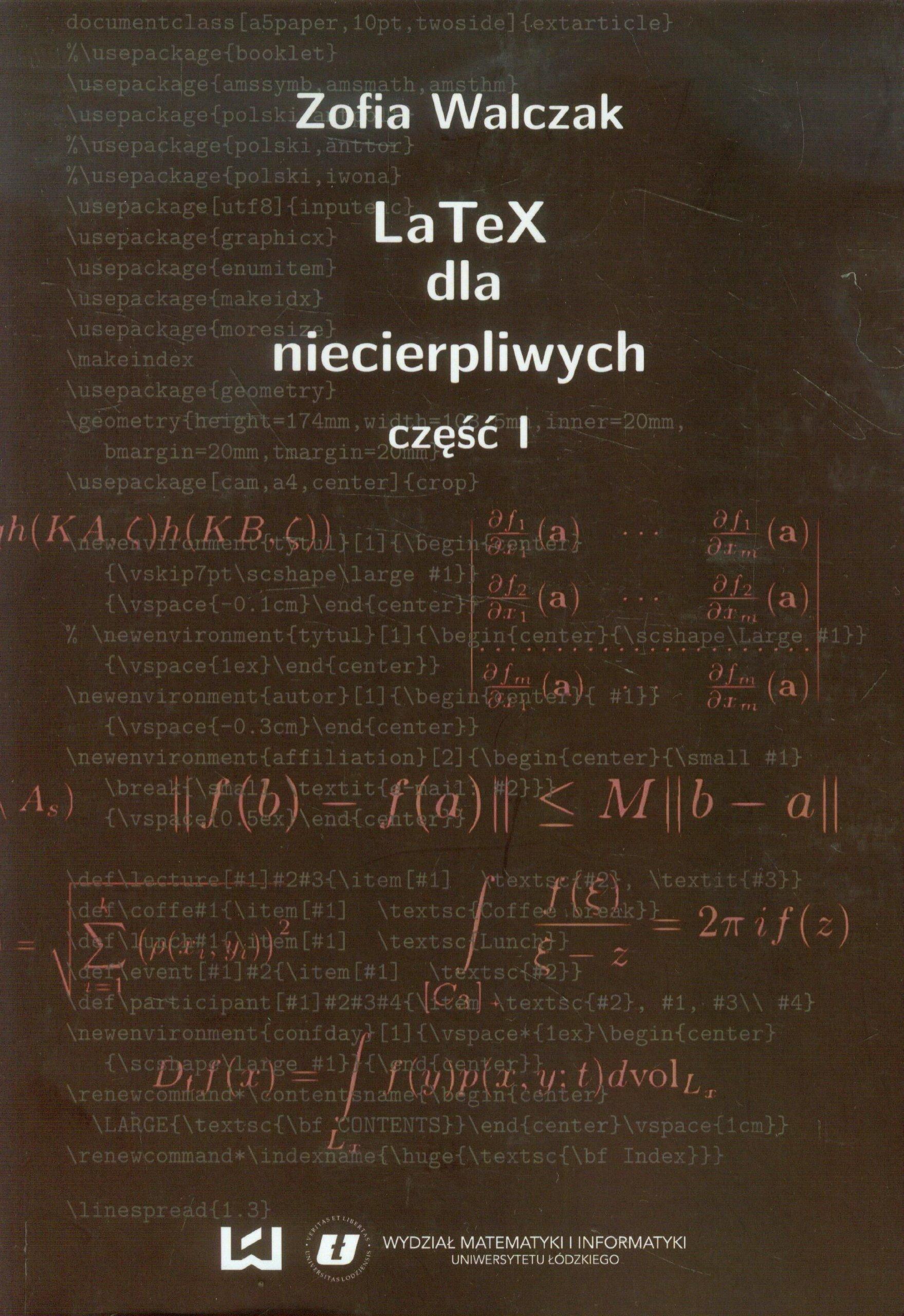 LaTeX dla niecierpliwych Czesc 1: Amazon co uk: Zofia