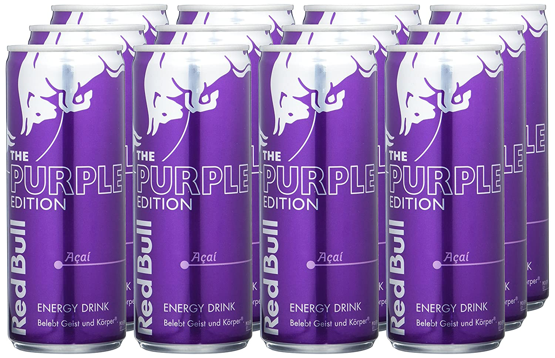 Red Bull Kühlschrank Leihen : Red bull purple edition energy drink mit acai geschmack einweg